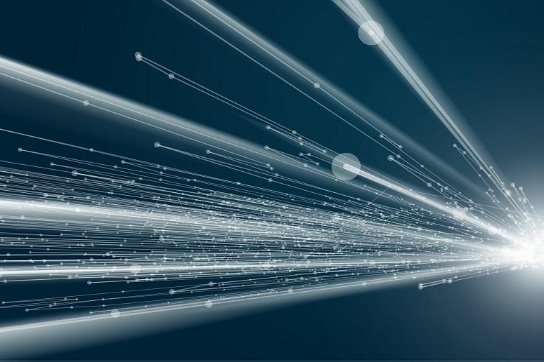 Conceptual art to represent wireless broadband