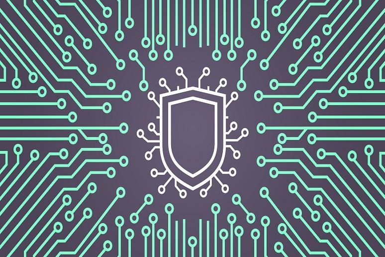 Illustration of digital security