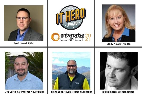 Enterprise Connect IT Heroes winners