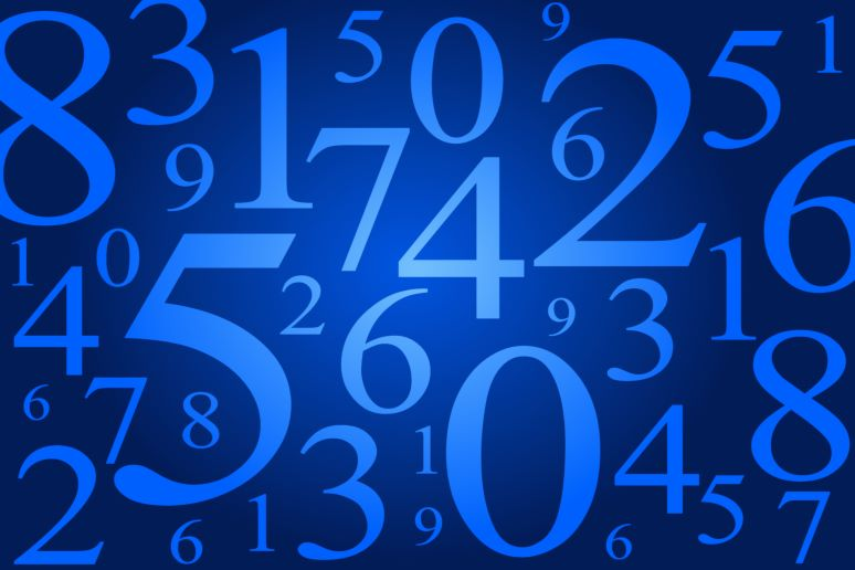 Number collage