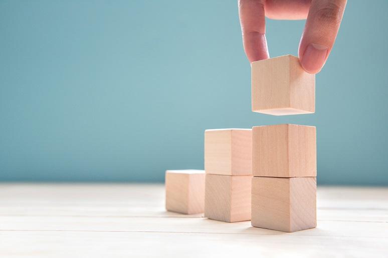 Picture of building blocks