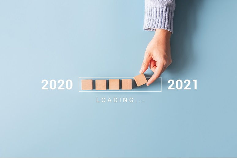 A loading bar for 2021