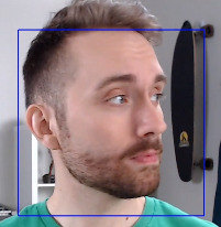 Face tracking in action