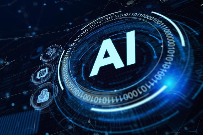 A button that says AI