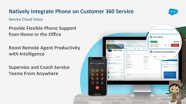 Amazon Connect and Salesforce Service Cloud Voice