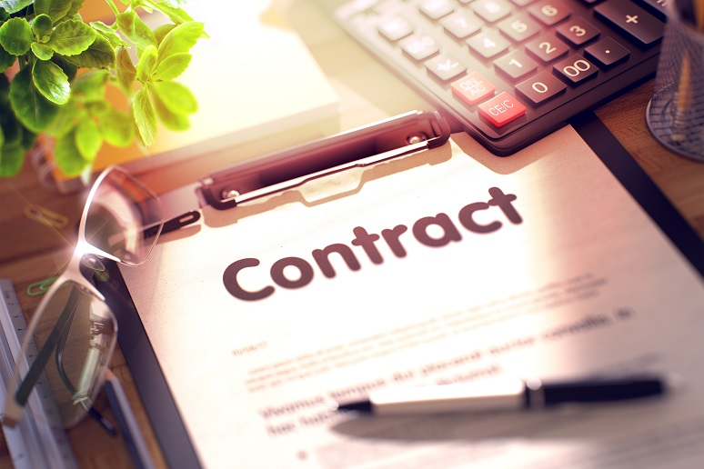 Looking at a contract