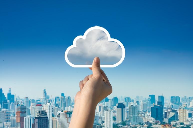 A cloud image