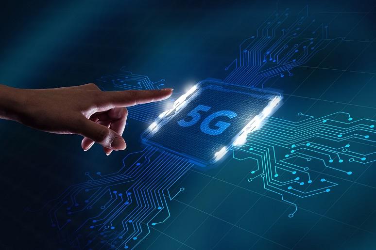 5G tech concept