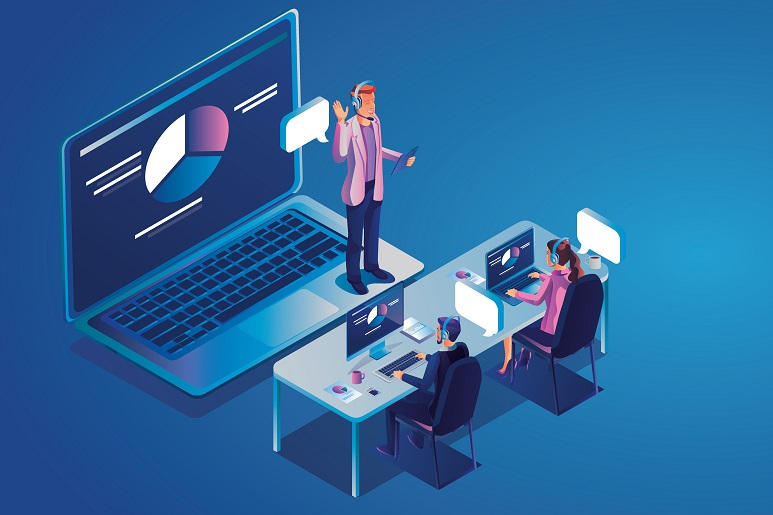P{icture of Virtual employee training