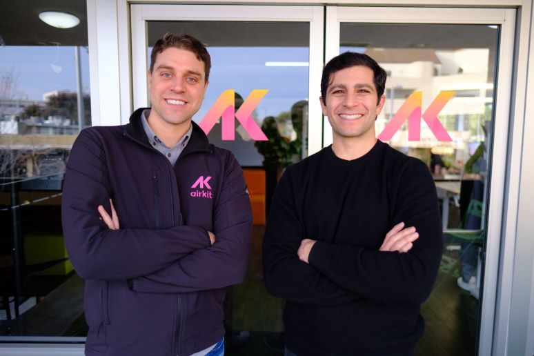 Photo of Airkit founders