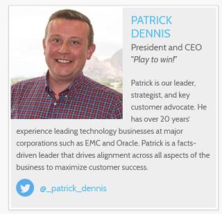Patrick Dennis, Aspect CEO