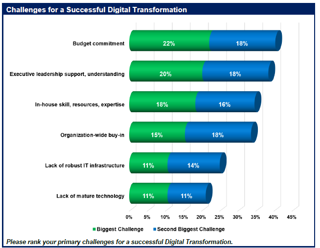 Webtorials Digital Transformation Study 1