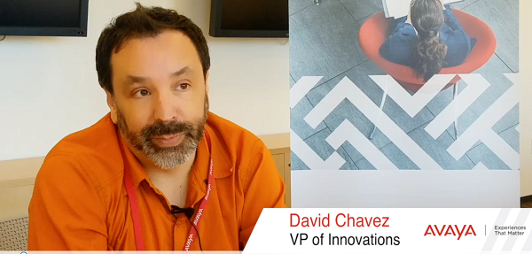 David Chavez, VP of innovation, Avaya