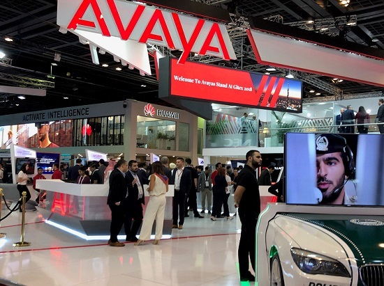 Avaya Gitex booth