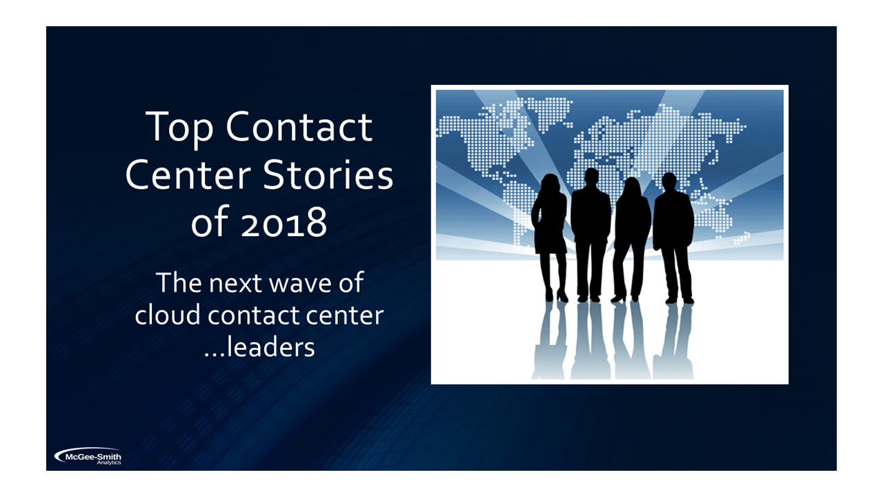 Contact Center 2018 Slide 1