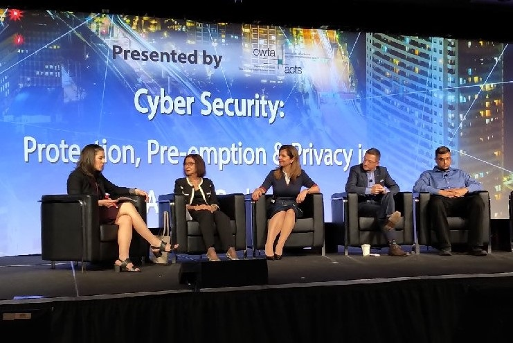 Cybersecurity panel at Canadian Telecom Summit