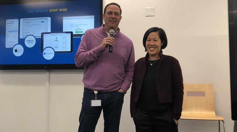 Chuck Robbins & Amy Chang