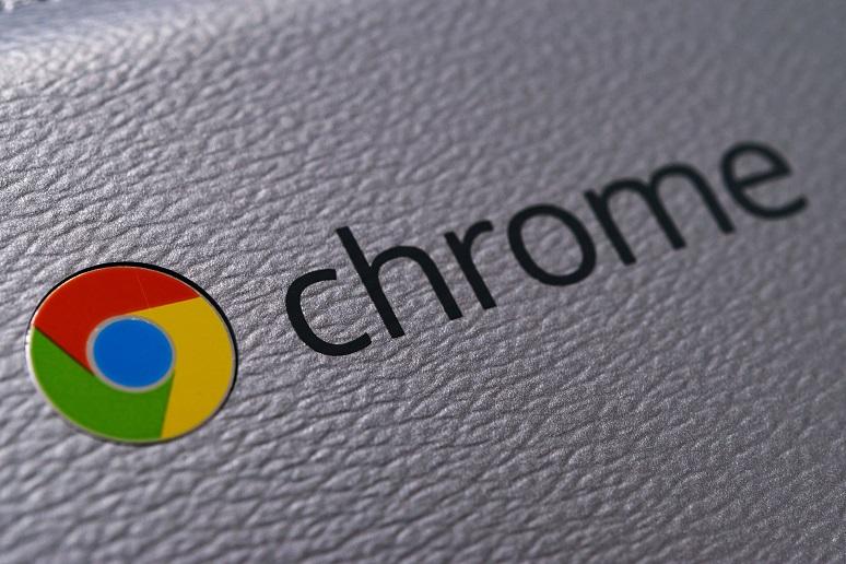 A close up on a Chromebook