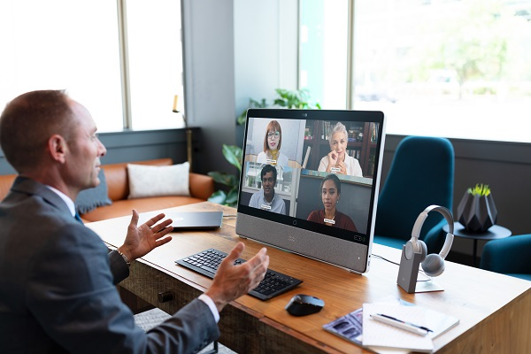 Cisco's new Desk Pro video collaboration device