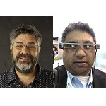 A picture of Dave Michels and Zeus Kerravala
