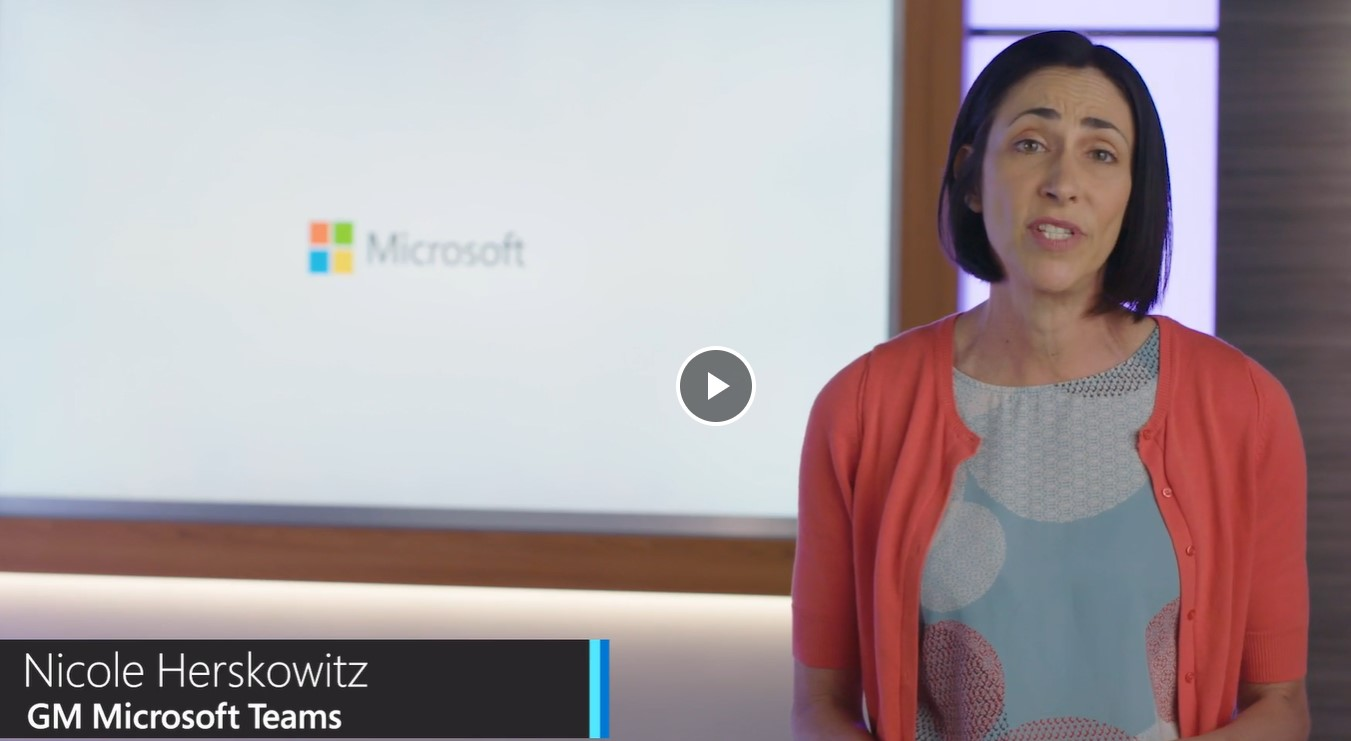 Picture of Nicole Herskowitz, GM of Microsoft Teams