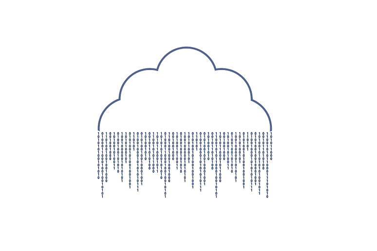 Cloud Raining Numbers
