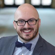 Headshot of Justin Robbins, Talkdesk