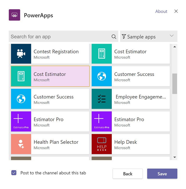 PowerApps examples