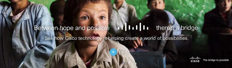 Cisco Brand Campaign