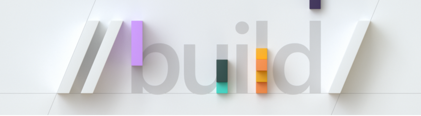 Microsoft Build logo
