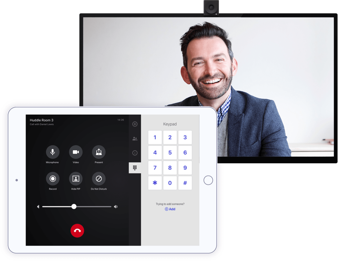 A Room Controller by Lifesize