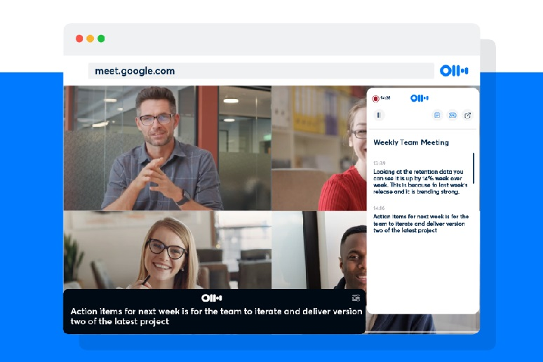 Otter.ai Adds Google Meet Support, Looks to the Future