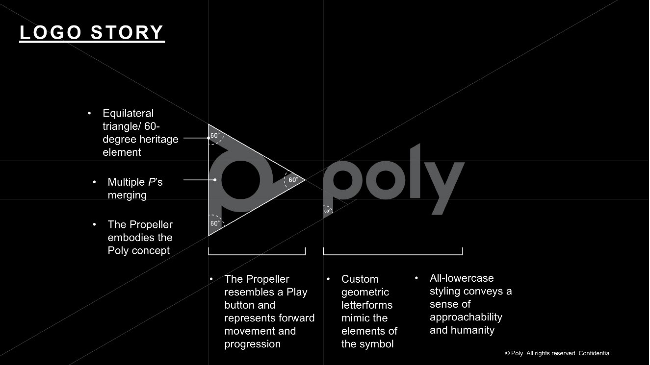 Explaining Poly logo