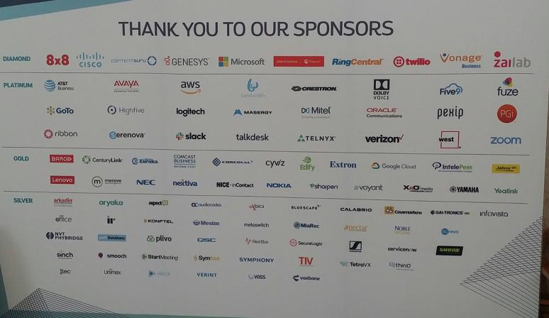 EC19 sponsors
