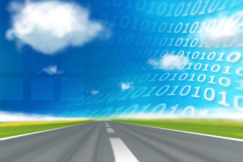 Speed highway to binary coded sky