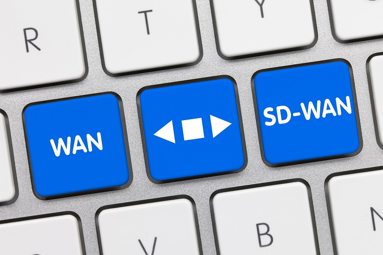 An icon that shows going from WAN to SD-WAN
