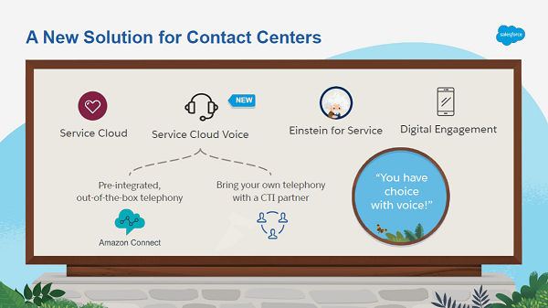 Salesforce Service Cloud Voice