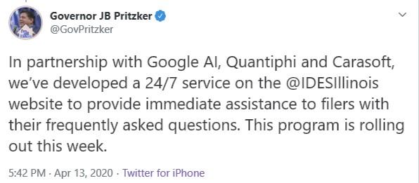 Pritzker Tweet