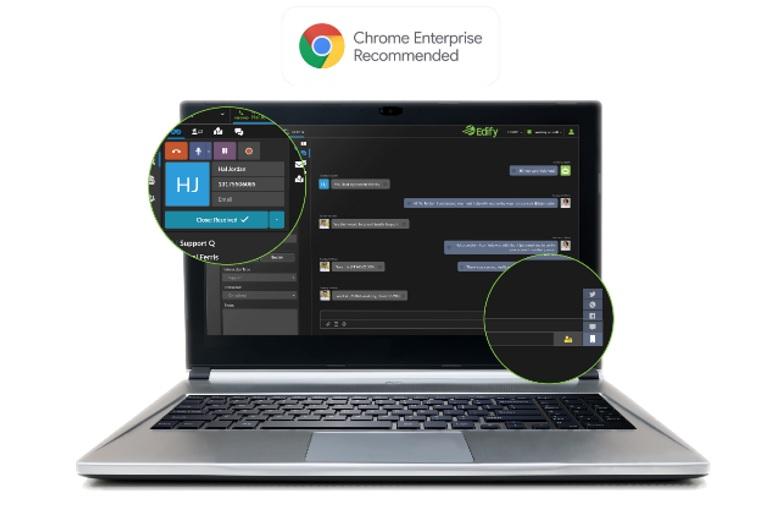 Edify on Google Chrome