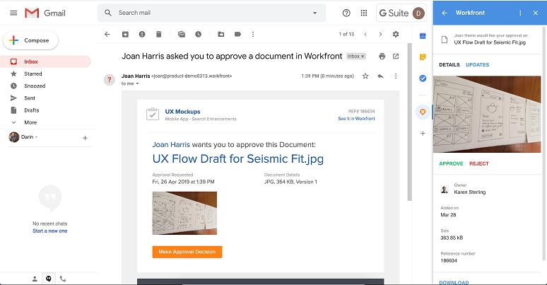 Workfront UI