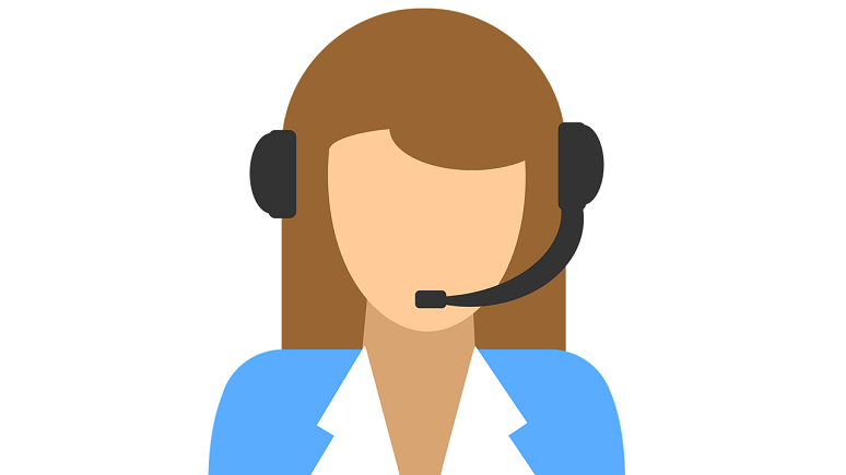contact center agent icon