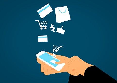 Mobile app for shopping