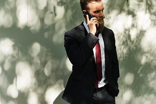 Mobile business caller