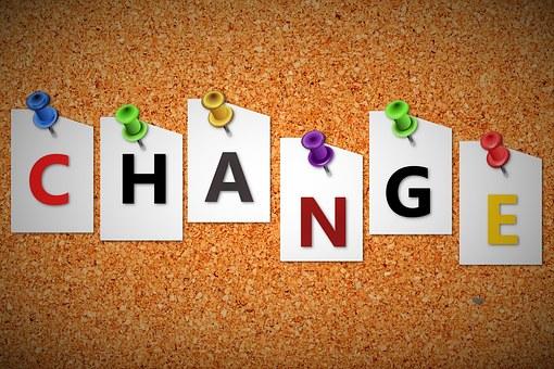 Change messaging on bulletin board