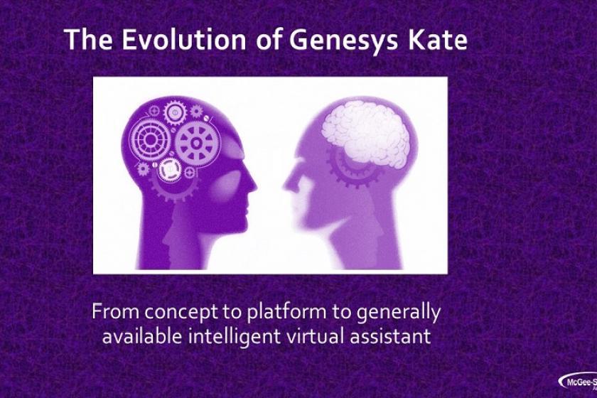 Meet Kate opening slide