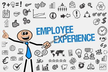employee experience collage