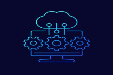 Depiction of cloud service