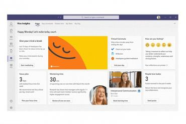 Microsoft's Viva Insights dashboard