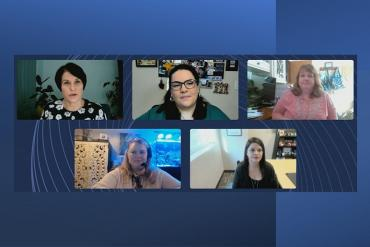 Women in communications roundtable panelists