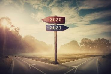 At the crossroads of 2020 and 2021